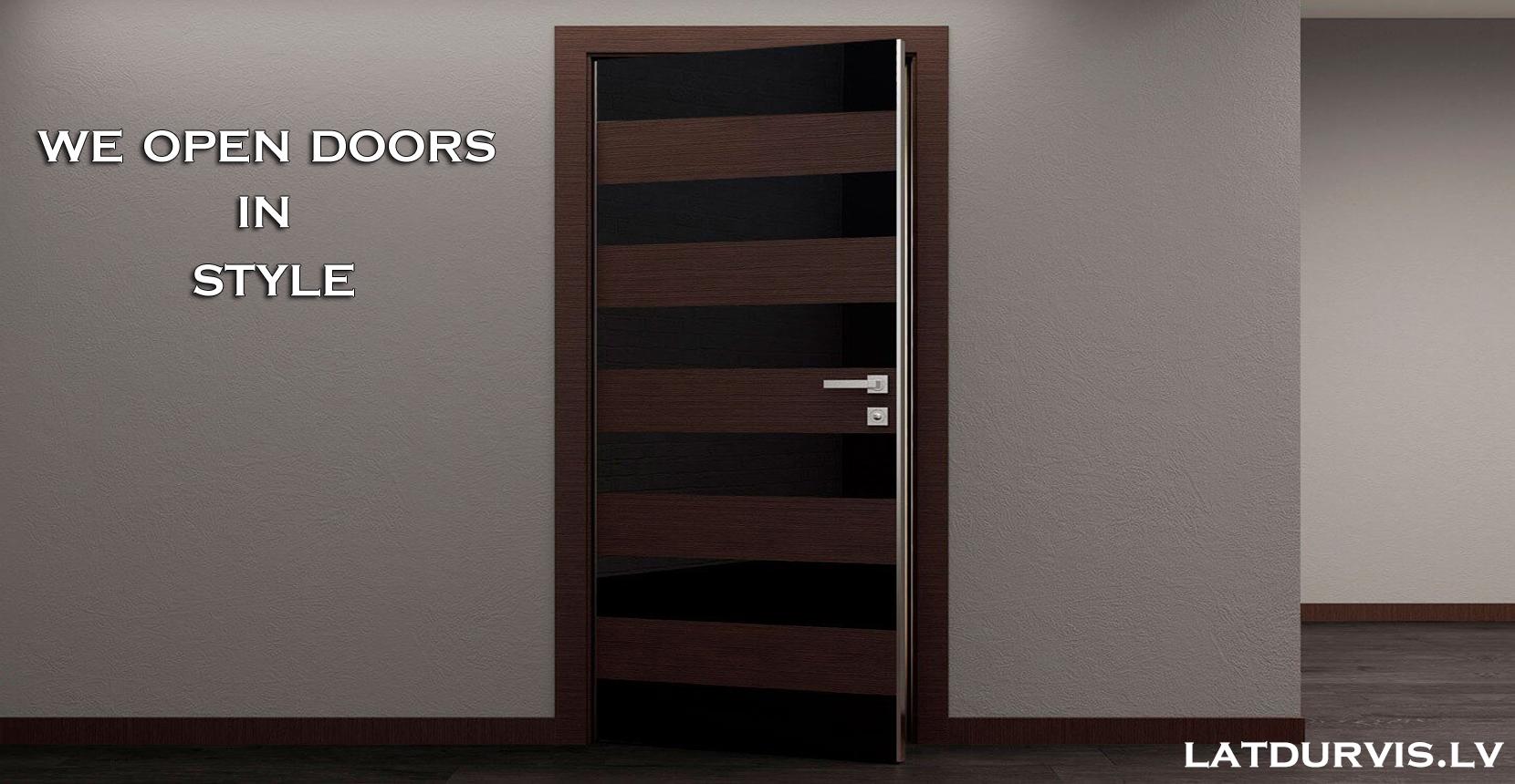Visit our door showroom