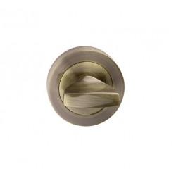 escutcheon WC round, patina