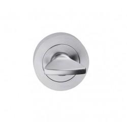 escutcheon WC round, chrome
