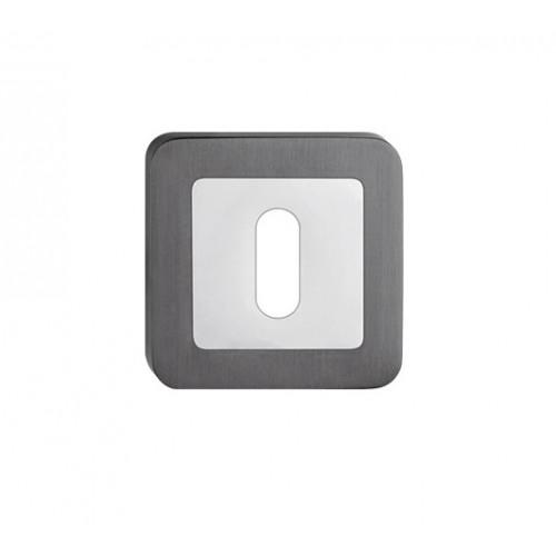 escutcheon BB square, graphite