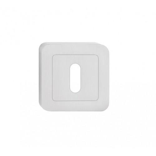 escutcheon BB square, nickel