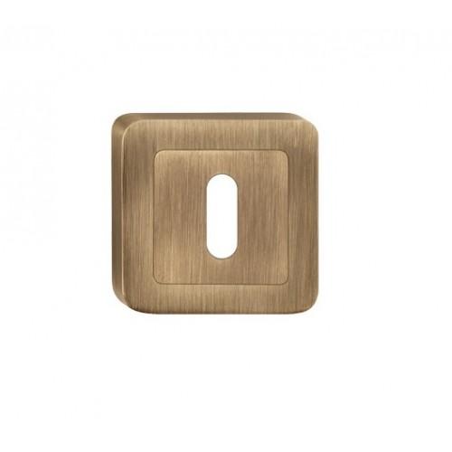 escutcheon BB square, patina