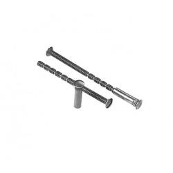 fixing screws 80mm, nickel